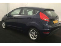 2012 FORD FIESTA 1.25 ZETEC GOOD / BAD CREDIT CAR FINANCE FROM 24 P/WK