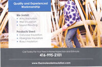 Fall Special on Attic insulation blow in/removal save $$$