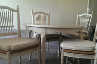 Lexington table, chairs and buffet