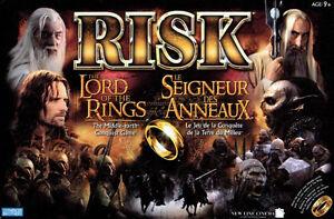 RISK multiple versions- LOTR, godstorm, Metal Reg. edition