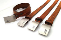 Groom & Groomsmen's Customized Buckles & Belts for Weddings
