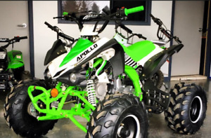 APOLLO VRX kids  ATV  **ONE OF THE BEST** 905 665 0305