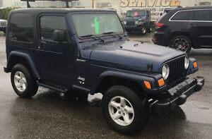2005 Jeep TJ Sport With 74Kms