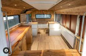 Double decker bus conversion