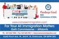 Immigration Services Near Humber College - Call 647-948-7010