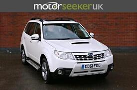2012 Subaru Forester XS nav plus with heated leather seats finished in pearl ...