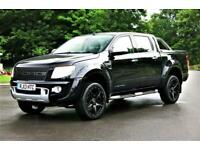 2013 Ford Ranger LIMITED AUTO 4X4 DCB TDCI RAPTOR STYLE Van Diesel Automatic