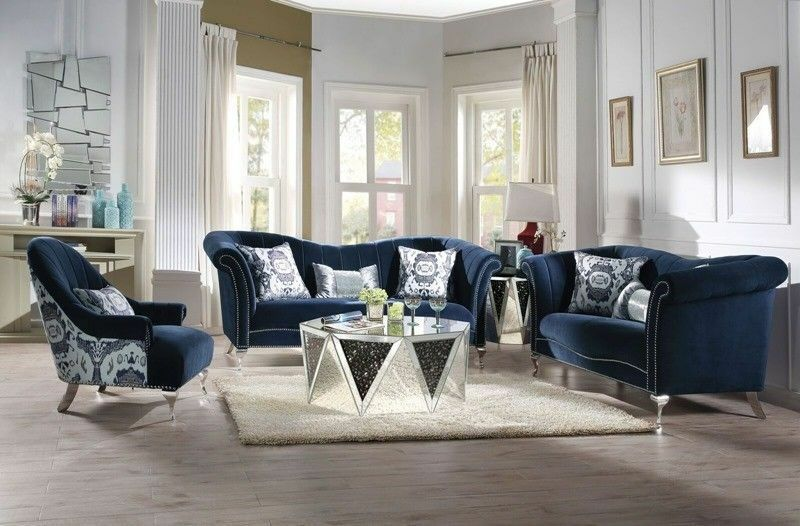 Acme Furniture Jaborosa Sofa and Loveseat