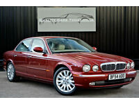 Jaguar XJ XJ6 3.0 V6 SE * Radiance Red + Ivory + High Specification*