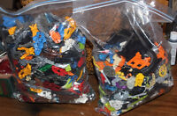 TWO BIG BAGS OF LEGO BIONICLES