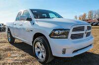 2016 RAM SPORT 1500 QUAD CAB WE HAVE A HUGE SELECTION !!