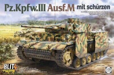 Takom 8002 Panzerkampfwagen III Ausf. M - mit Schürzen - 1:35