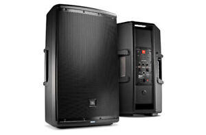 "JBL EON615 15"" Two-Way Self-Powered (Paire + Housses)"