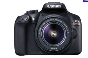 New Canon EOS Rebel T6 Digital SLR Camera Kit with EF-S 18-55mm