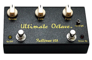 Fulltone Ultimate Octave and Nash Pedals Fuzzy Face