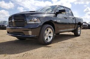 2016 RAM 1500 SPORT CREW CAB, DEMO WITH ONLY 8300KMS !! EXP5012