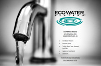 Ecowater NS Limited Now Offers Certified Plumbing Services!