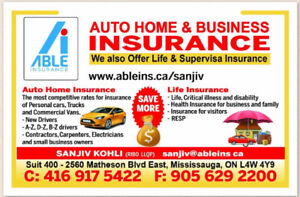 AUTO HOME LIFE & VISITOR INSURANCE SUPER VISA RESP