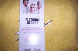 Platinum Blonde for May 13 FREE
