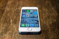 10/10 Condition iPhone 5S 16 GB WHITE
