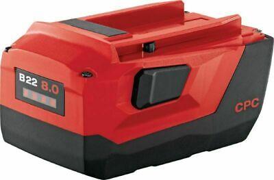 Hilti B22 8.0 Ah Lithium Ion Batteryfor Cordless Tool Brand New.