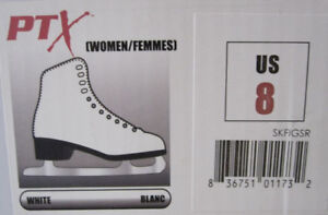 Ladies PTX Figure Skates And Youth TUV Rheinland Figure Skates