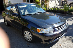 2001 Toyota Corolla CE 130,000kms