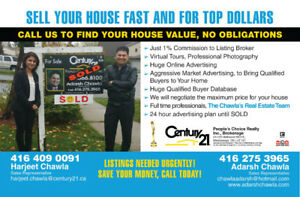 Homesellers: LOW COMMISSION , SELL FAST , Free home evaluation