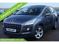 2011 (61) PEUGEOT 3008 1.6 SPORT E-HDI AUTOMATIC SERVICE HISTORY + JUST SERVICED
