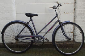 Ladies Vintage dutch bike RALEIGH CAPRICE size frame 20 serviced ready to go - Welcome for test ride