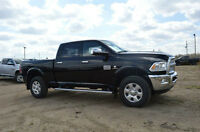 2015 DODGE RAM 3500 DIESEL LONGHORN ....CHECK OUT THE INTERIOR !