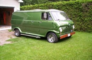 1969 customized ford van