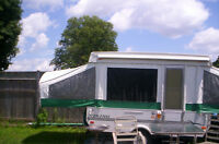 viking hard top like new or trade for boler trailer
