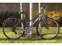 Ladies Hybrid Bike Trek 7.2 FX