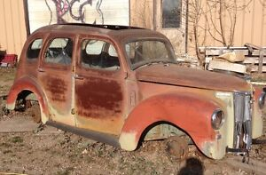 Two 1949 Ford Prefects  $900.00 for the pair