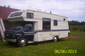 MOTOR HOME 1984 CITATION 350 CHEV ENGINE