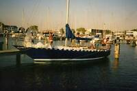 Steel Sailboat (Bruce Roberts - Bermuda Sloop) 36'