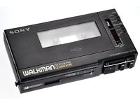 SONY PROFESSIONAL WM-D6C Walkman With Case & PSU, Few Hours Use, Cassette Tape, IMMACULATE CONDITION