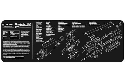 Remington 870 Shotgun Armorers Gun Cleaning Bench Mat w/Exploded View Schematic