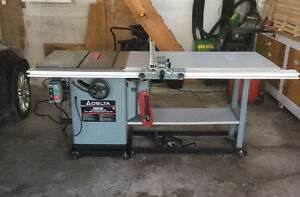 Delta Unisaw 3 HP (table saw)