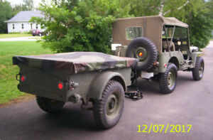1952 Willys Jeep M38A
