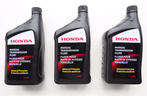 SET OF 3 Acura & Honda OEM Manual Transmission Fluid 087989031C