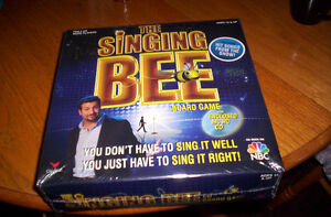 The Singing Bee  Board Game with cd (new)
