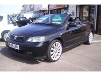 Vauxhall/Opel Astra 1.8i Exclusive Convertable Low Miles new C/Belt+water pump