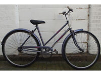 Vintage ladies classic dutch bike RALEIGH size frame 20 serviced ready to go - Welcome for test ride