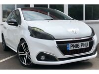 Peugeot 208 BLUE HDI S/S GT LINE (white) 2016