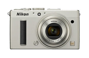 Nikon COOLPIX A 16.2 MP Digital Cam with 28mm f/2.8 Lens Silver