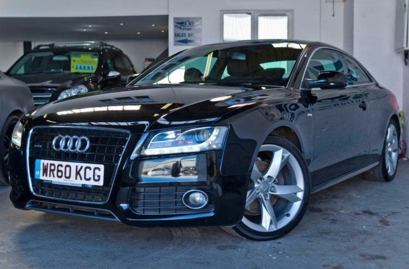 2010 audi a5 3 0 tdi s line special edition quattro 2dr 5 main dealer stamps 1 in cardiff. Black Bedroom Furniture Sets. Home Design Ideas