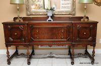 Antique Victorian Sideboard / Buffet