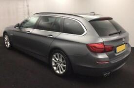 2013 GREY BMW 530D TOURING 3.0 SE DIESEL AUTO ESTATE CAR FINANCE FR 46 PW